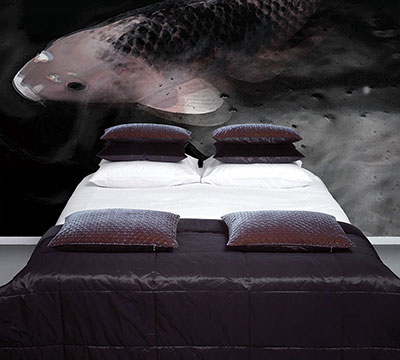 Into The Night Bedroom Koi Carp