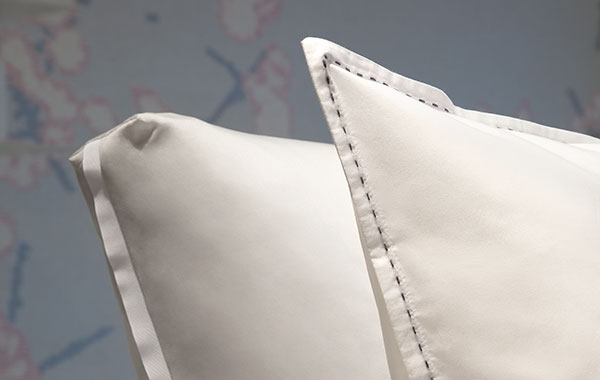 Duvet cover set cotton percale and sateen 300 thread count
