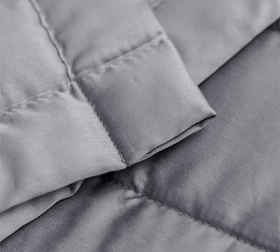 Bedend Spread Brick padded cotton percale satin