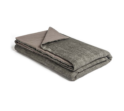 Mrs.Me new product bedspread Morris Graphite