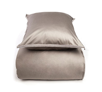 duvet cover set Layers Taupe