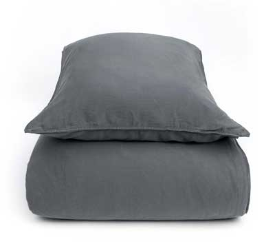 duvet cover set Stilo Steelgrey