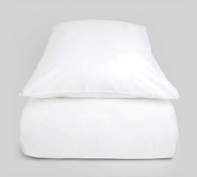 duvet cover set Lash White