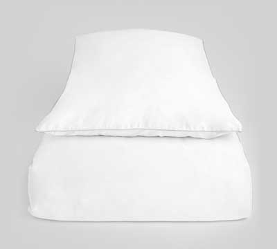 duvet cover set Bliss White White