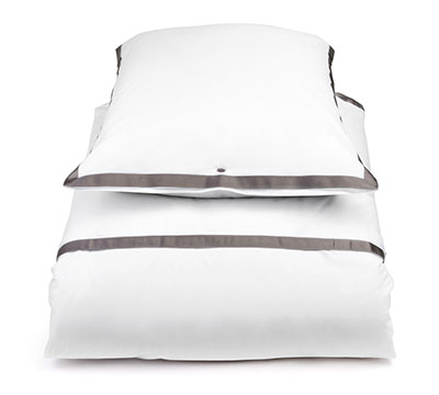 duvet cover set Contour White