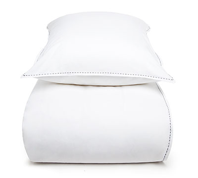 duvet cover set Couture White