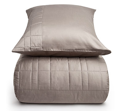 duvet cover set Travis Taupe