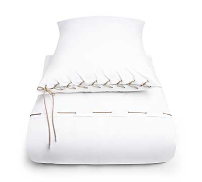 duvet cover set Wire White