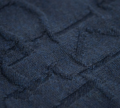 Knitted Mohair Byron  detail