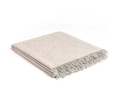 Mrs.Me new product throw Fly Blush washed wool